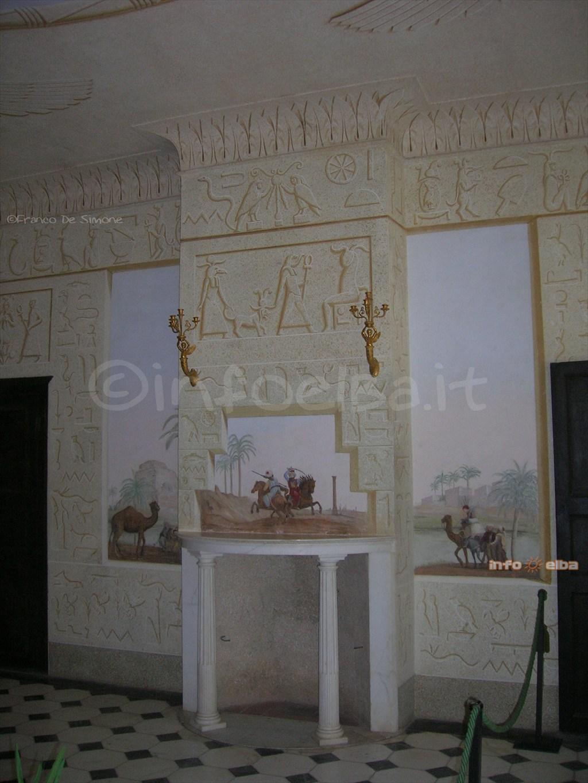 villa d elba statues